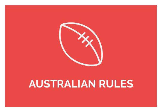 Online Aussie Rules Strength Program