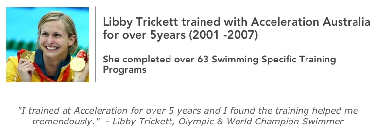 Libby Trickett Swimming Strength Program